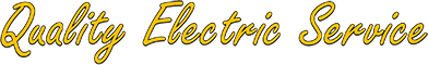 Quality Electric Service  Logo